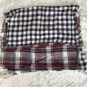 Aeropostale Accessories - Two-tones plaid scarf
